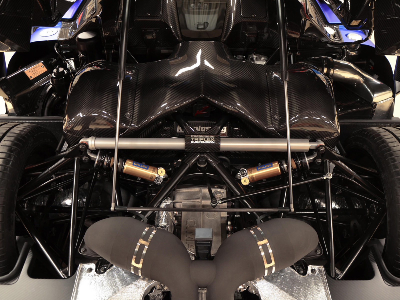 Koenigsegg Agera R Triplex Rear Suspension