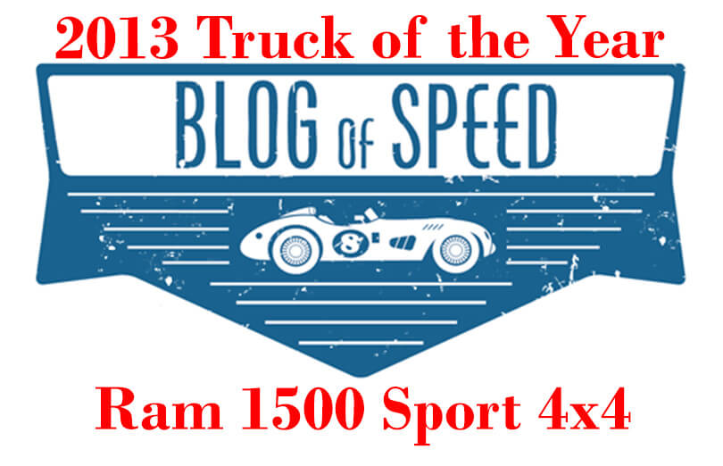2013 Truck of the Year- the Ram 1500 Sport 4x4