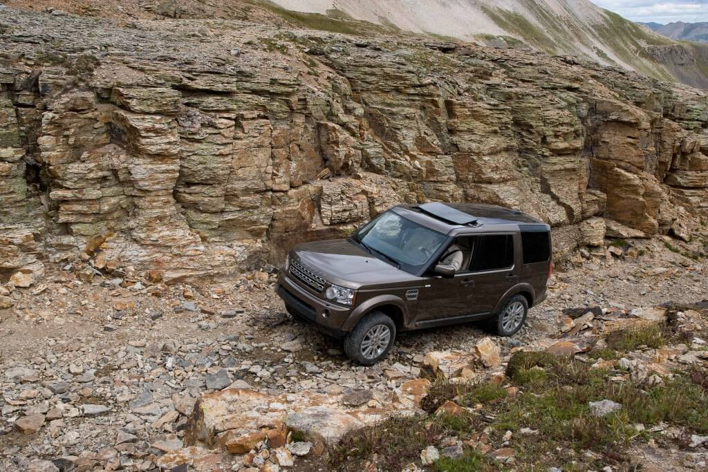 LR4 Off Road, image from Land Rover