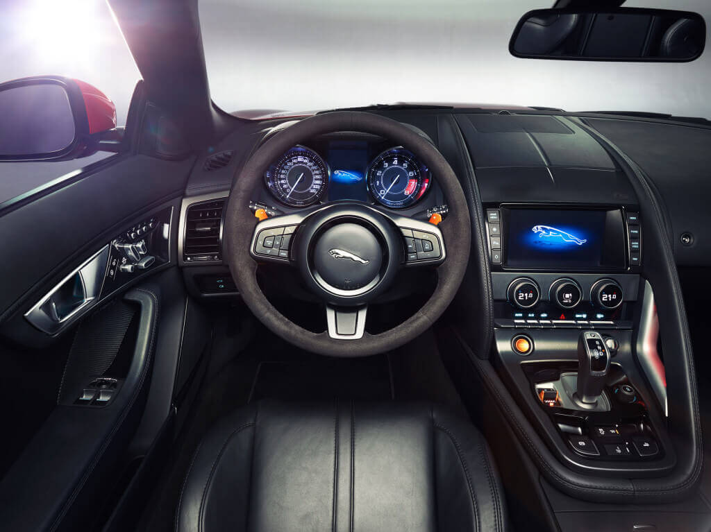 2014 Jaguar F-Type V8 S interior